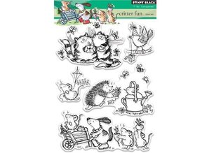 Penny Black Transparent stempel: Critter Fun
