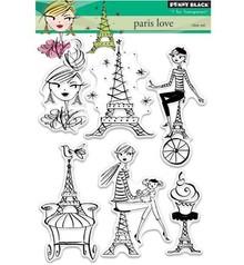 Penny Black Transparent Stempel: Paris love