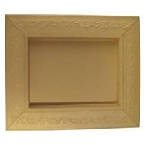 Schadowbox, Indstilling: Ornament, rektangulære, 31,5x37,5x2,5 cm
