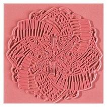 Texture mat, Music, 90 x 90 mm, 1 piece