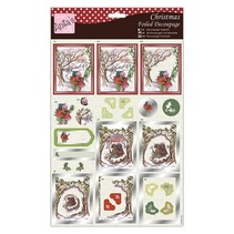 Exclusive 3D Die cut sheets with silver effect, Snowflurry Adventures