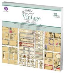Prima Marketing und Petaloo Designer Block, Vintage Tutti i giorni