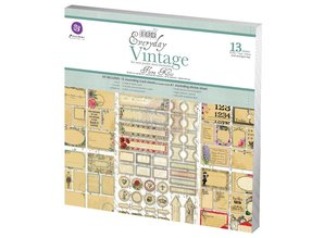 Prima Marketing und Petaloo Designer Block, Everyday Vintage