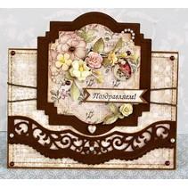 Stanz- und Prägeschablone: Filigrane Bordüren
