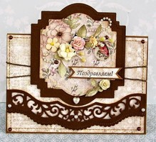 Spellbinders und Rayher Punching and embossing Template: Intricate Borders