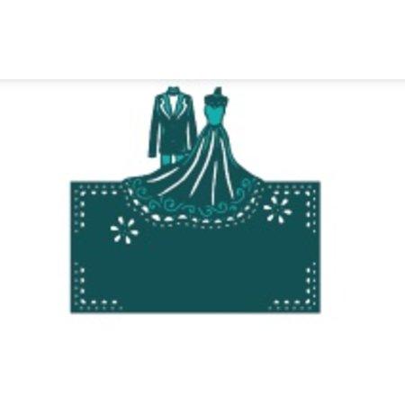 Die'sire Stanz- und Prägeschablone von Diesire, Hochzeitspaar