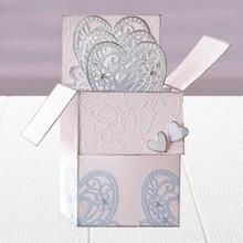 Die'sire Stampaggio e goffratura stencil di Diesire, cuore, fiori e angoli