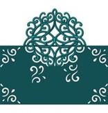 Die'sire Stanz- und Prägeschablone von Diesire, romantische Swirls