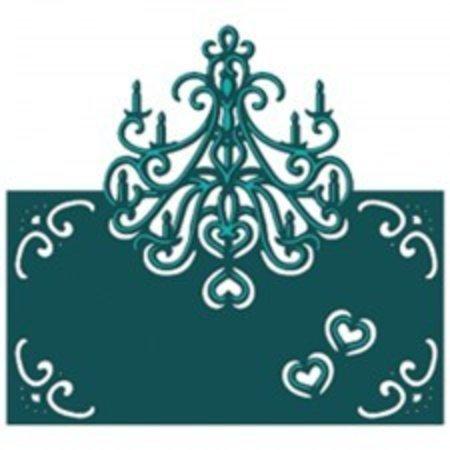 Die'sire Stanz- und Prägeschablone von Diesire, Classic Chandelier