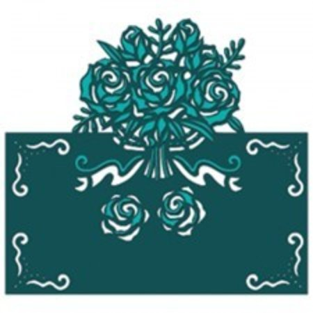 Die'sire Stanz- und Prägeschablone von Diesire, Beautiful Bouquet