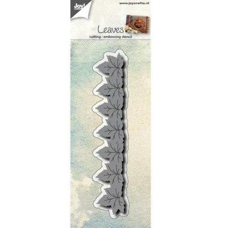 Joy!Crafts und JM Creation Stanz- und Prägeschablone: Bordüre mit Blätter