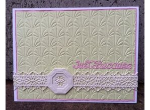 Creative Expressions Punching and embossing stencil Filigree Border