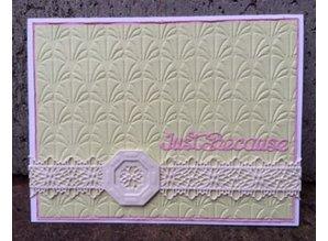Creative Expressions Stansning og prægning stencil Filigree Border