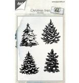 Joy!Crafts und JM Creation Transparent Stempel: Tannenbäume