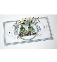 Joy!Crafts und JM Creation Transparent stamp: Fir trees