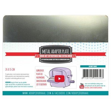 MASCHINE / MACHINE & ACCESSOIRES Metall Platte Größe: A5