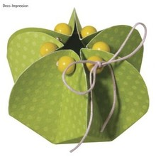 Dekoration Schachtel Gestalten / Boxe ... Plantilla, flor, 2 piezas