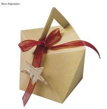 Dekoration Schachtel Gestalten / Boxe ... Modello, cubo, scatola di 9 cm di altezza x larghezza di 7 cm.
