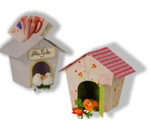 Dekoration Schachtel Gestalten / Boxe ... Plantilla, pajarera