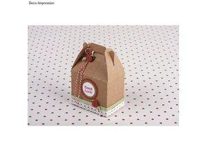 Dekoration Schachtel Gestalten / Boxe ... Regalo, 4 piezas