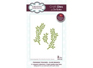 Creative Expressions Punching and embossing template: Olive branch