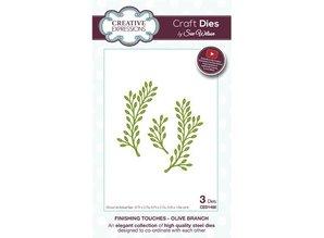Creative Expressions Punzonatura e modello di goffratura: Olive branch