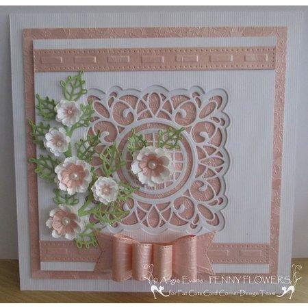 Creative Expressions Troquelado y estampado en relieve plantilla: marco decorativo
