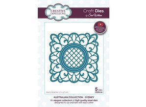 Creative Expressions Punching and embossing template: decorative frame