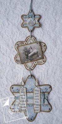 Joy!Crafts und JM Creation Alegría manualidades, corte y grabado en relieve de la plantilla, de 3 estrellas
