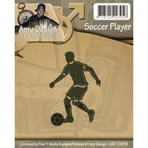 Stansning og prægning skabeloner: Fodboldspiller