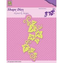 Stanz- und Prägeschablonen: Swirls & Leafes