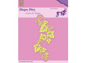 Nellie snellen Punching and embossing templates: Swirls & Leafes