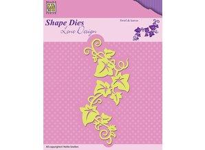Nellie snellen Stanz- und Prägeschablonen: Swirls & Leafes
