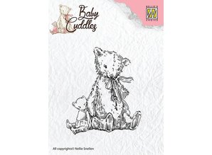 Nellie snellen Transparent stamps Baby Cuddles - Teddy Bears