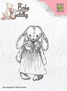Nellie snellen I timbri trasparenti bambino abbracci del bambino, ragazza Cuddly