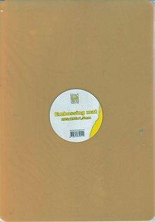 MASCHINE / MACHINE & ACCESSOIRES A4 gomma goffratura mat spessore
