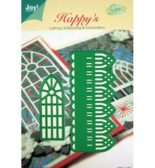 Joy!Crafts und JM Creation Cutting and embossing stencils, decorative border and windows