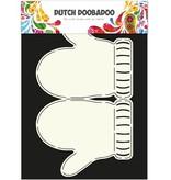Dutch DooBaDoo A4 SCHABLONE ZUR KARTENGESTALTUNG