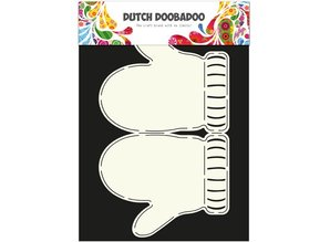Dutch DooBaDoo A4 SKABELON FOR KORT DESIGN
