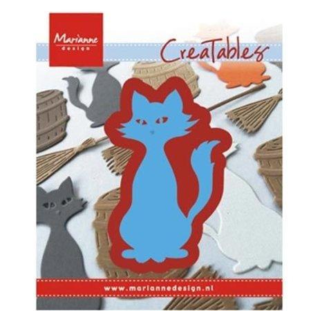 Marianne Design Stanz- und Prägeschablone: Kitty
