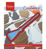 Marianne Design Stanz- und Prägeschablone: Besen