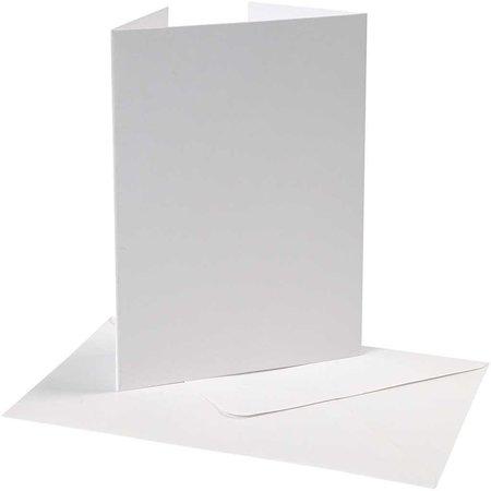 KARTEN und Zubehör / Cards Pearlescent Card & kuverter, kort størrelse 10,5x15 cm