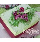 Heartfelt Creations aus USA Botanic Orchid Cling Stamp HCFC - 3741 og retten slag HCD1- 7101