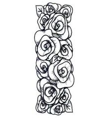 Creative Expressions Timbri, roses border