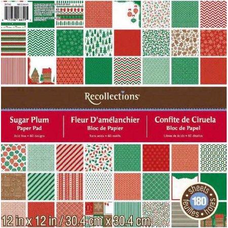 DCWV und Sugar Plum Designerblock, 30,5 x 30,5cm