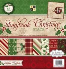 "DCWV und Sugar Plum NEU! Designerblock ""Storybook Christmas"""