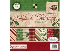 """DCWV und Sugar Plum NUEVO! Bloque de diseño """"Libro de cuentos de Navidad"""""""