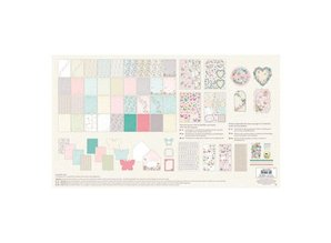Docrafts / Papermania / Urban Scrapbooking MAXI set an excellent price-performance ratio.
