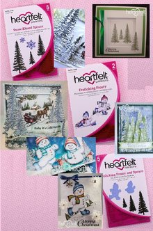 Heartfelt Creations aus USA NUOVO: NEVE COLLECTION KISSED