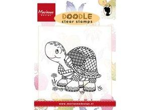Marianne Design Transparent stempel: Doodle Turtle